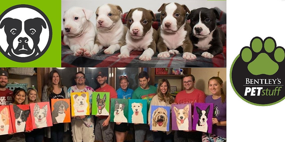 FREE Puppy Snuggles! Paint Your Pet at Bentley's Kirkwood