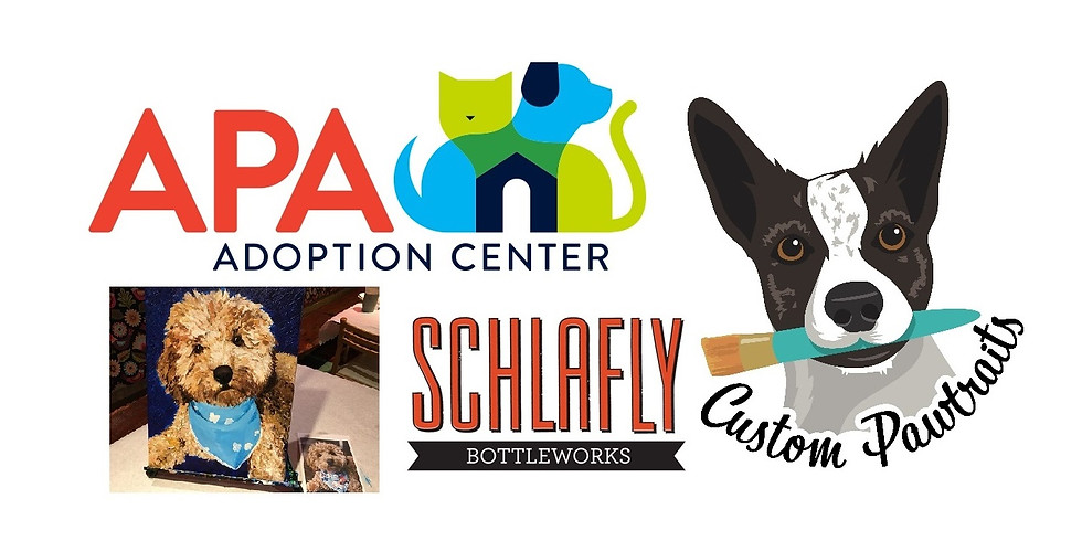 Paint Your Pet at Schlafly Bottleworks!