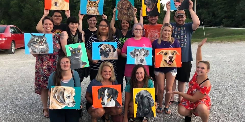 SOLD OUT Paint Your Pet: Kirksville, MO