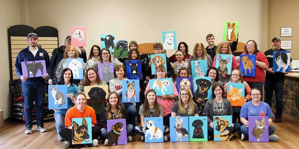 Paint Your Pet! at Medlin Pet Company
