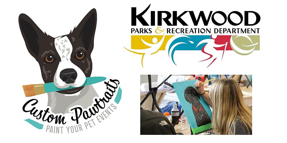 Paint Your Pet at Kirkwood Community Center