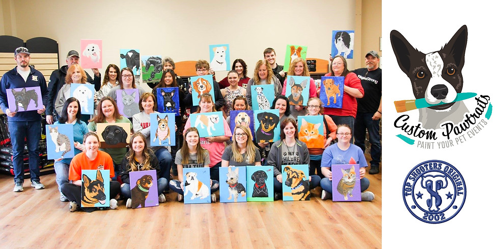 Paint Your Pet at Top Shooters in Columbia, IL (1)