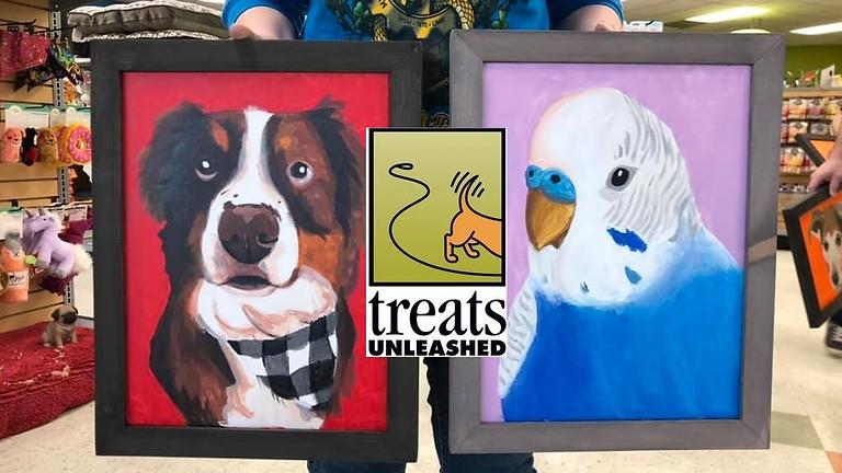 Paint Your Pet at Treats Unleashed - Cottleville