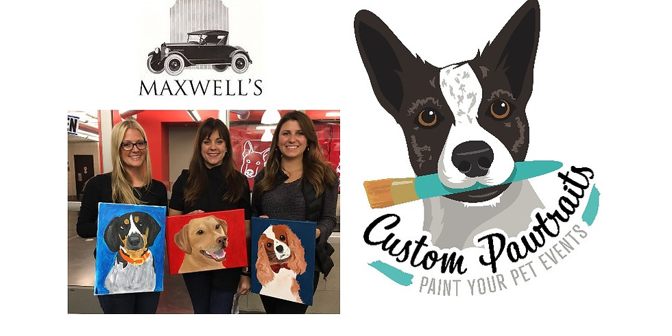 Paint Your Pet at Maxwell's in Kirksville!