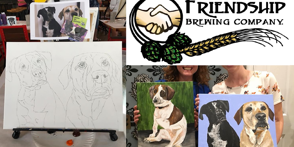 Paint Your Pet at Friendship Brewing Company