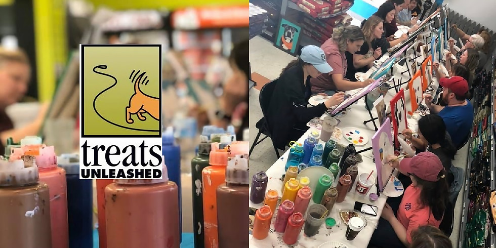Paint Your Pet at Treats Unleashed - Columbia, MO