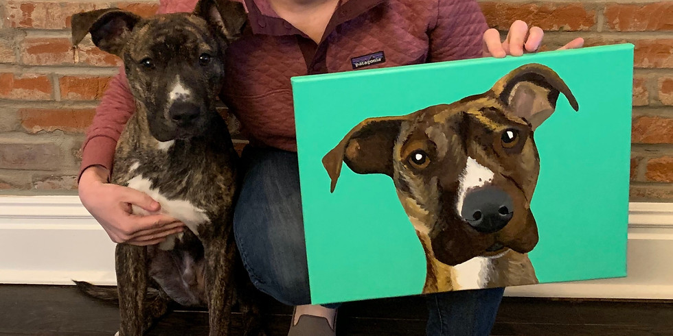 Paint Your Pet Virtual event with Treats Unleashed - Creve Coeur