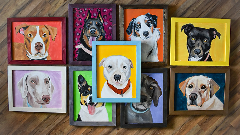Paint Your Pet at Loyal Bella Co.