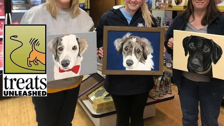 Paint Your Pet at Treats Unleashed - Creve Coeur