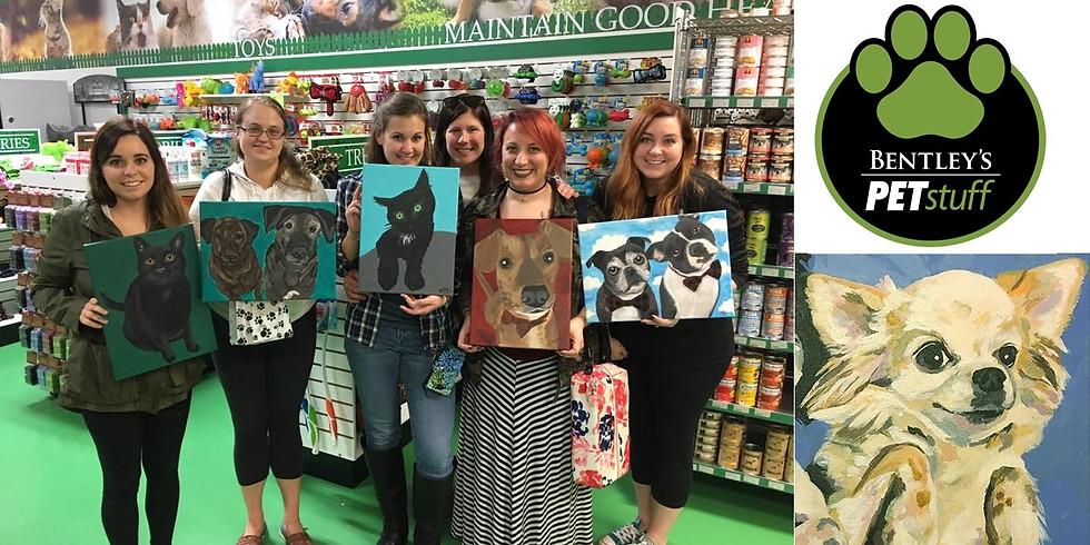 Paint Your Pet at Bentley's Cottleville