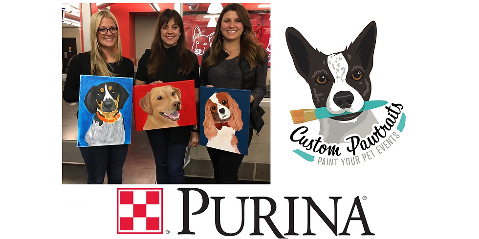 Private Paint Your Pet Class at the Purina Tower