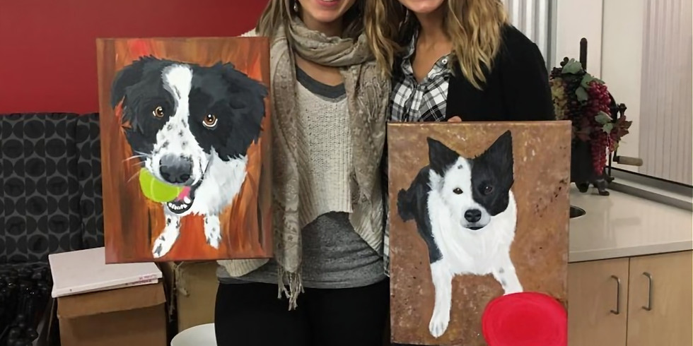 Paint Your Pet Virtual event with Muttley & Me