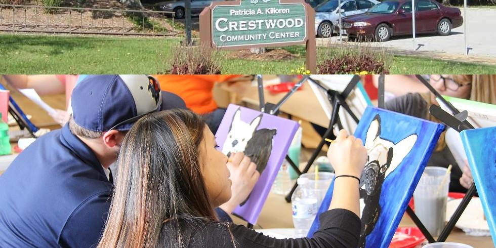 Paint Your Pet at Crestwood Community Center