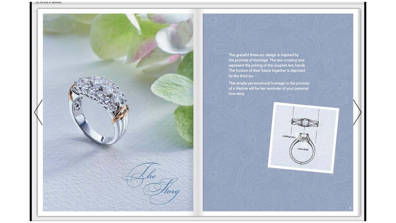 Brochure Copywriting Bridal