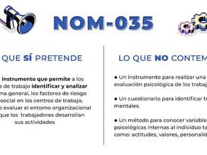 Norma 035 ¡INFÓRMATE!