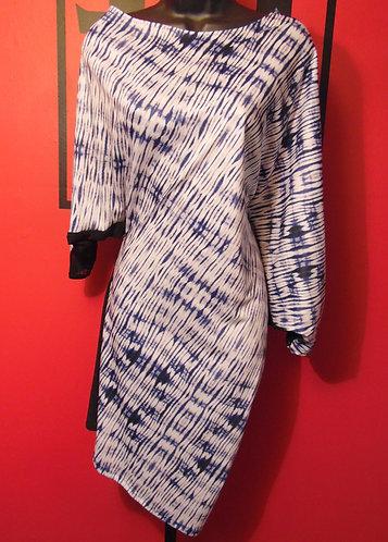 Multi-Wear Tunic - White Tie-Dye
