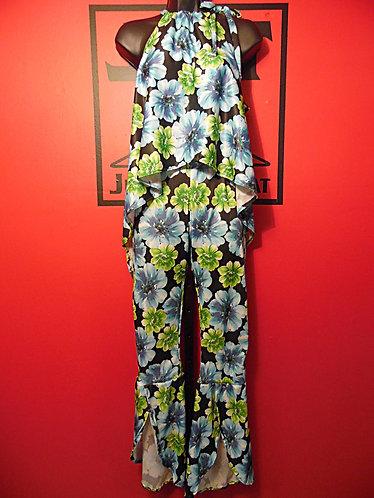 Queen Bee Pants Suit - Floral
