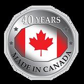 GT Machining & Fabricating Ltd 40th Anniversary Logo