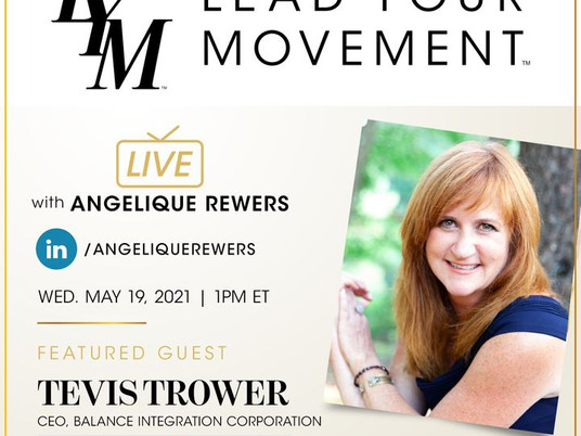 Lead Your Movement EP. 36: Creating Corporate Mindfulness with Tevis