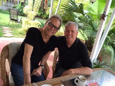 Gary and Dick Oatts