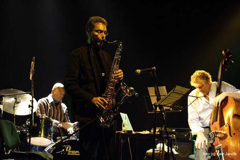 Gary with Miroslav Vitous Quartet in Paris, Gerald Cleaver and Miroslav