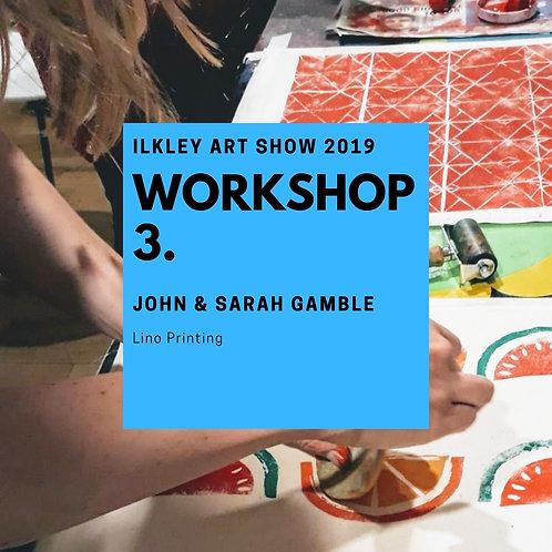 John & Sarah Gamble | Introduction to Lino Printing