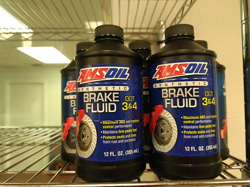 AMSOIL Brake Fluid DOT 3&4