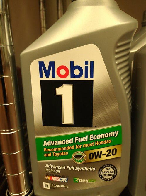 Mobil 1 0W-20 Full Synthetic