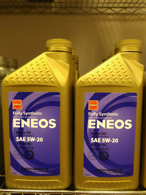 Eneos Full Synthetic SAE 5W-20