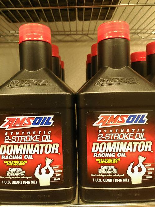 AMSOIL Synthetic 2-Stroke Dominator Oil