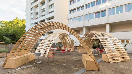 Woven Pavilion