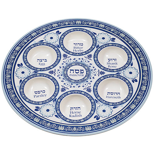 Melamin Seder fad