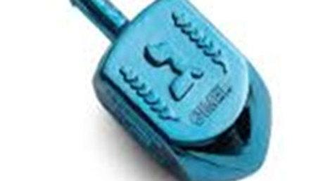 Stor metallic sevivon 5 cm  flere farver (blå, rød, grøn, lilla)
