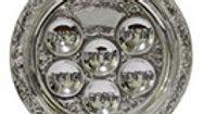 Store sølv engangs sederfad