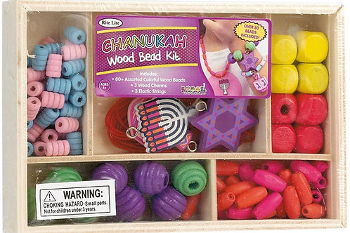 Chanukah wooden bead kit