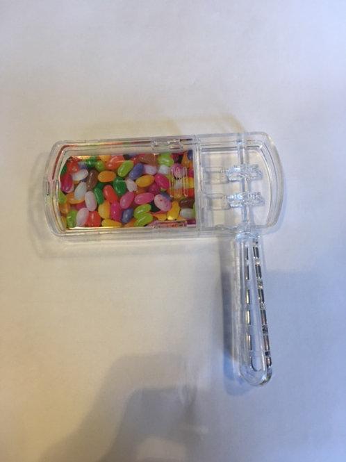 Clear plastic grogger