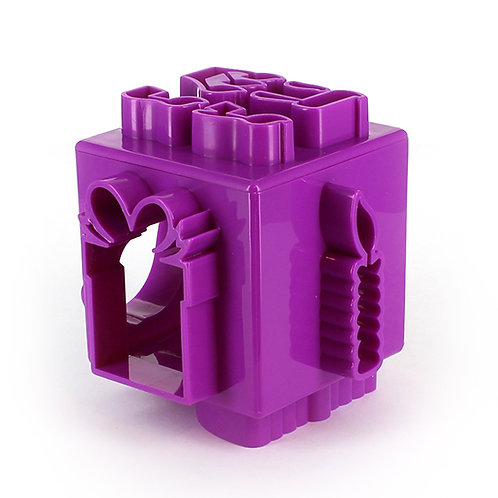 Chanukah Cookie Cutter - Cube