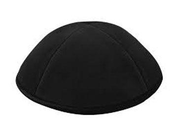 sort fløjl kippah
