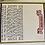 Thumbnail: Birchat hamazon kort - 4 fold 10x30 cm