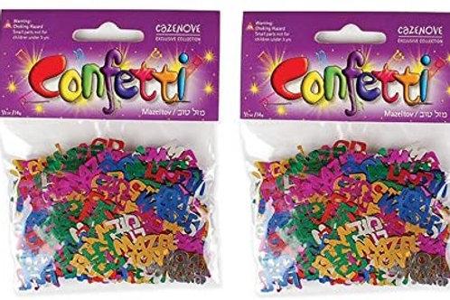 Mazal tov confetti