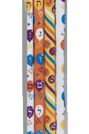 Alef-bet pencils