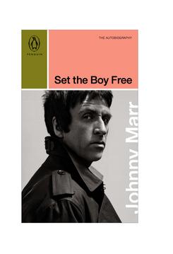 Vintage Penguin paperback treatment of Johnny Marr's autobiography, Set the Boy Free / concept, 2020.