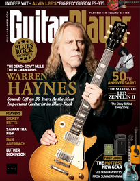 Guitar Player magazine (Sept. 2019), Supro Silverwood