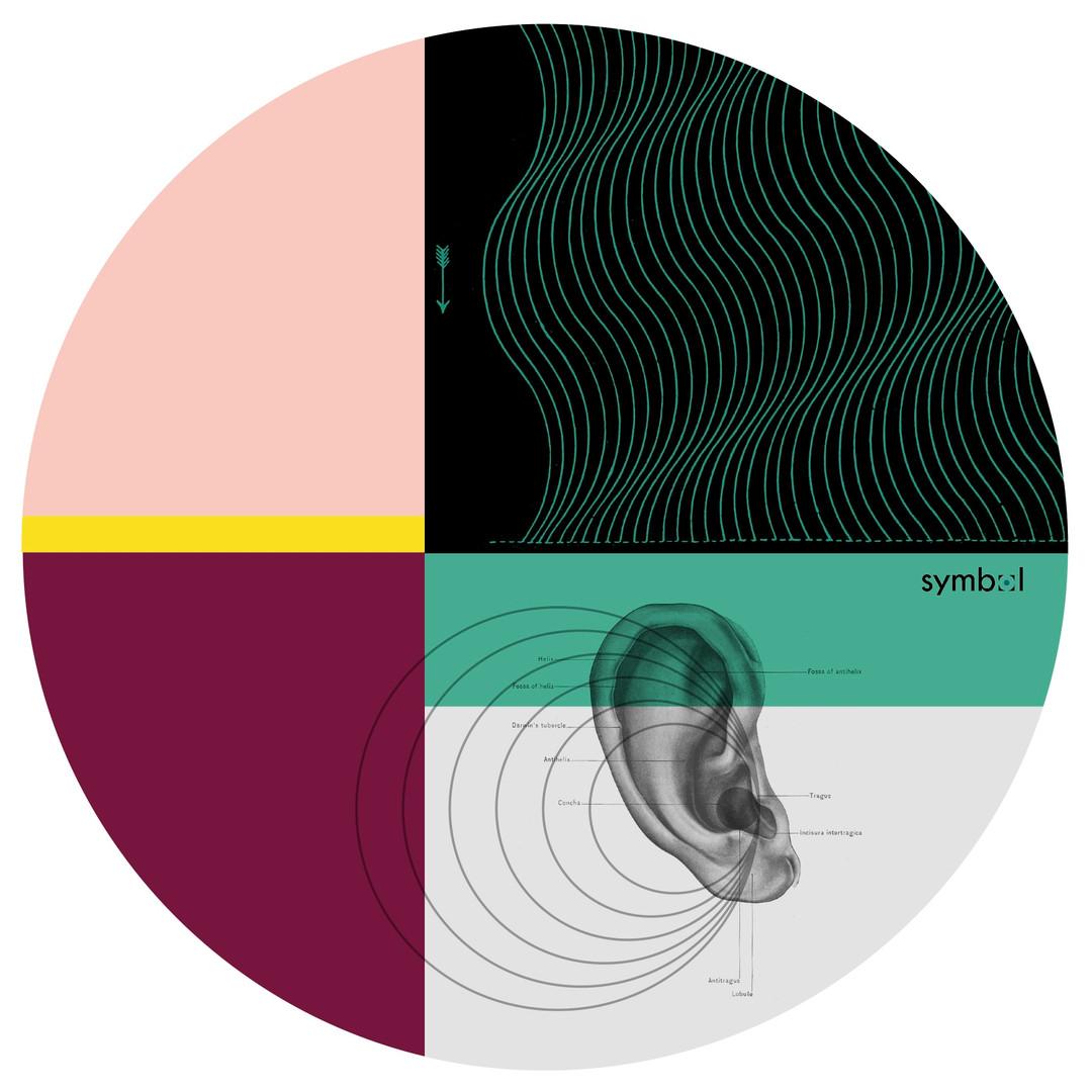 Graphic record mat designed for Symbol Audio, 2017 / 2020