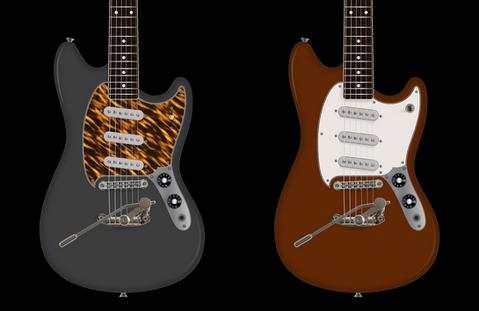 Rendering for PureSalem Jimmy | Futura Guitars