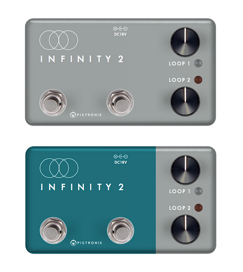 PIGTRONIX INFINITY 2 LOOPER PEDAL, PRELIMINARY DESIGN, 2019