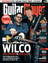 Guitar Player magazine (Dec. 2019), Supro Silvewood review + Editor's Pick