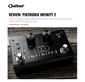 Guitar Player magazine, May, 2020, Pigtronix Infinity 2 review
