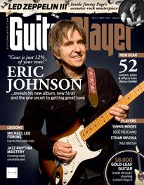 Guitar Player magazine (April, 2020), Supro Conquistador