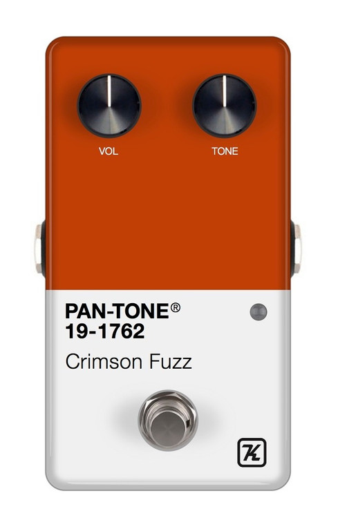 Pan-Tone® effects pedal series, Design © 2020